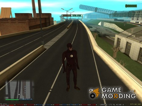 HD All City Road для GTA San Andreas