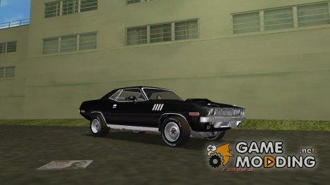 Plymouth Cuda for GTA Vice City