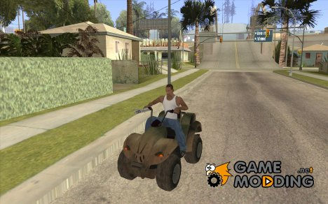 Квадроцикл из TimeShift for GTA San Andreas