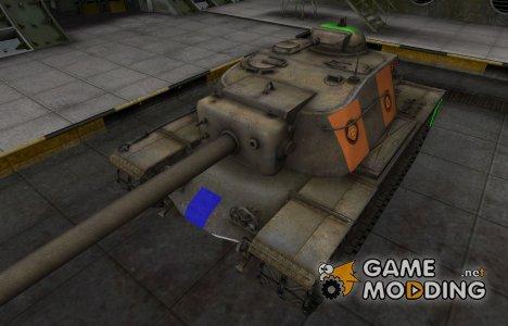 Качественный скин для T110E4 для World of Tanks