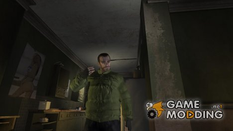 Куртка охраника леса for GTA 4