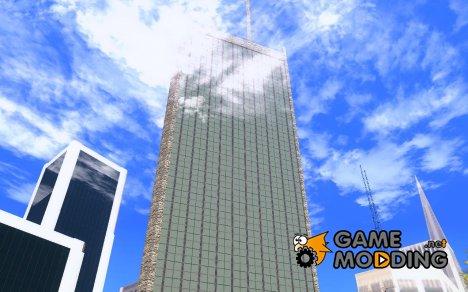 Новые текстуры небоскрёба для GTA San Andreas