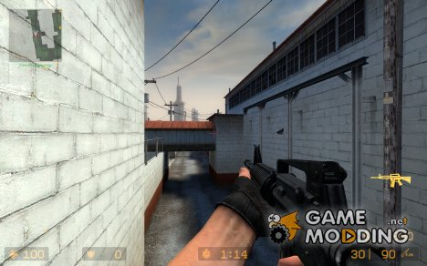 Millenia's M4A1 для Counter-Strike Source