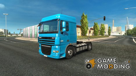 DAF XF 105 Reworked v 2.0 for Euro Truck Simulator 2