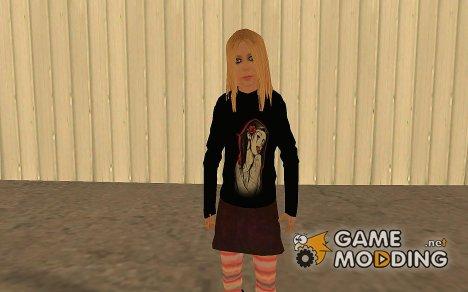 Avril Lavigne for GTA San Andreas