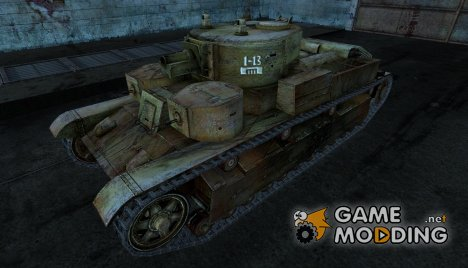 Шкурка для T-28 для World of Tanks