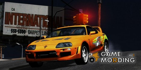 "1995 Toyota Supra ""The Fast And The Furious"" для GTA San Andreas"