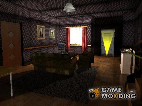 Новый зал в доме Cj for GTA San Andreas