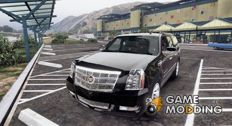 2012 Cadillac Escalade ESV GMT900 1.0 for GTA 5