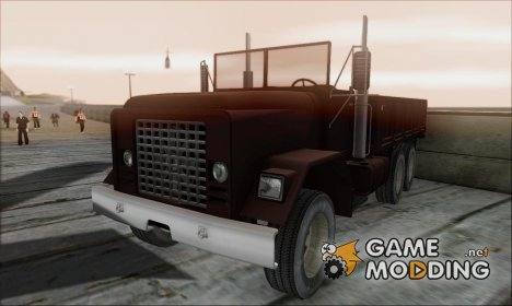 Flatbed HD for GTA San Andreas