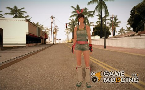 Dead Or Alive 5 Hitomi Overalls for GTA San Andreas