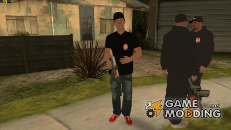 PAStent Gang:1st mobster for GTA San Andreas
