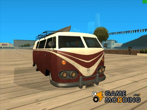Camper GTA V ImVehFt for GTA San Andreas