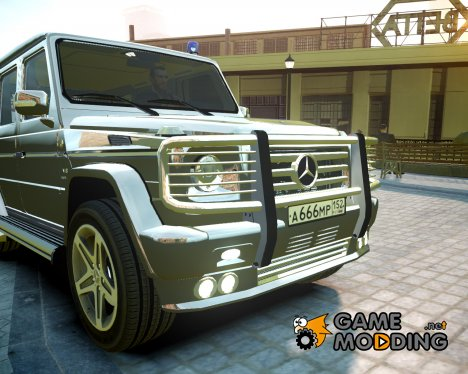 Mercedes-Benz G55 AMG for GTA 4