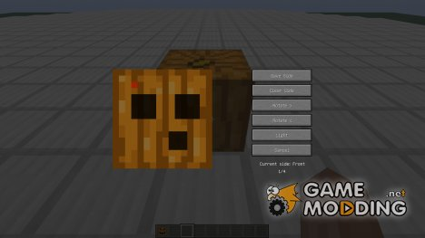 Carvable Pumpkins for Minecraft