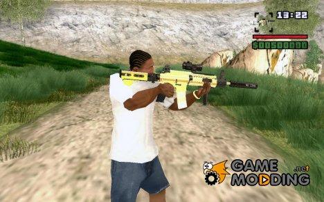 Обновленная M4 для GTA San Andreas