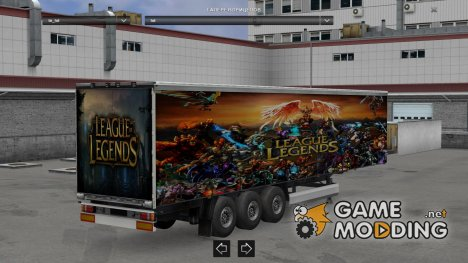 League of Legend for Euro Truck Simulator 2