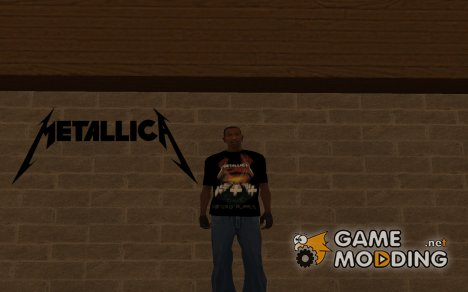 Футболка Metallica Master of Puppets for GTA San Andreas