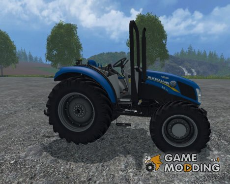 New Holland T4.75 Садовая Версия 3.0 для Farming Simulator 2015