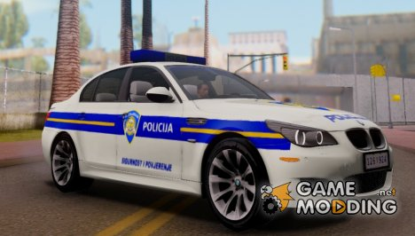 BMW M5 - Croatian Police Car для GTA San Andreas
