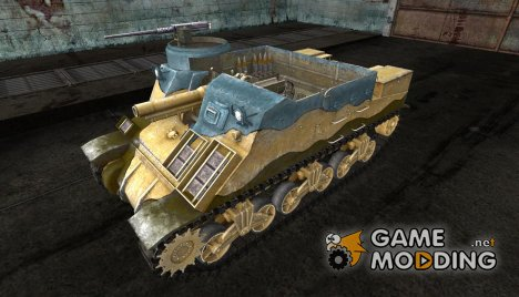 Шкурка для M7 Priest for World of Tanks