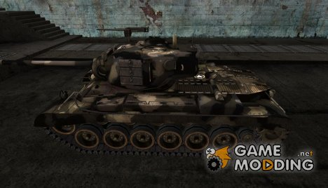 шкурка для M46 Patton №9 for World of Tanks