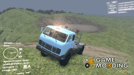 МАЗ 509 Лесовоз for Spintires DEMO 2013
