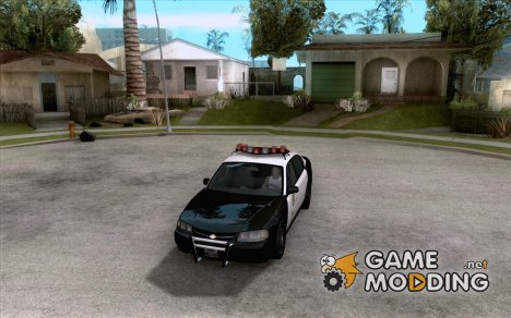 Chevrolet Impala Police 2003 для GTA San Andreas