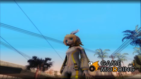 Project Diva F 2nd - Kagamine Rin Append for GTA San Andreas