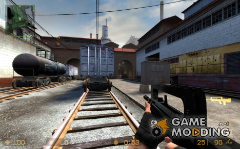 Black Famas для Counter-Strike Source