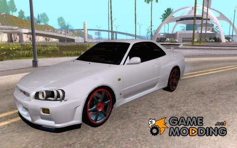 Nissan Skyline R34 GT-R V2 for GTA San Andreas