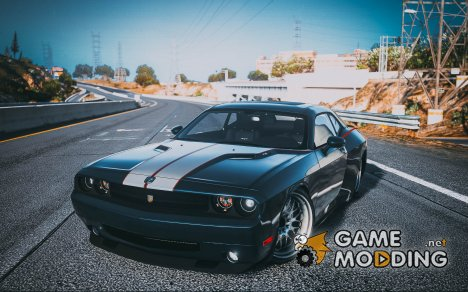 2010 Dodge Challenger SRT8 (Rampage Edition) 1.5 для GTA 5