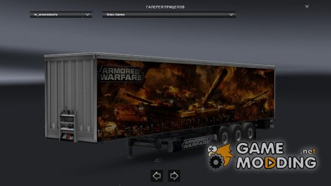 Armored Warfare для Euro Truck Simulator 2