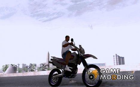 Yamaha TT250R для GTA San Andreas