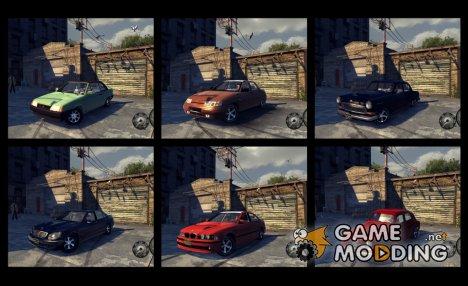 Тазы и несколько иномарок для Mafia II