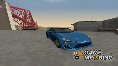 2012 Toyota GT86 for GTA San Andreas