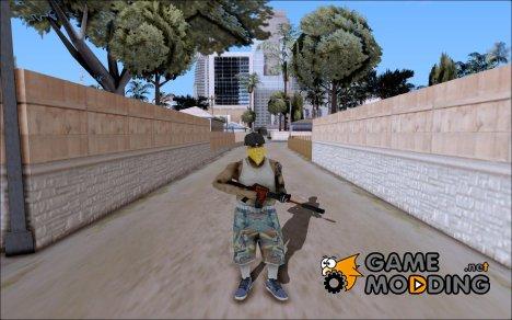 M4A1 Crimzone for GTA San Andreas