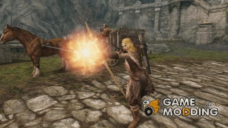 Shoot Magic for TES V Skyrim
