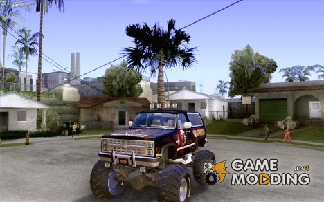 Chevrolet Blazer K5 Monster Skin 4 для GTA San Andreas