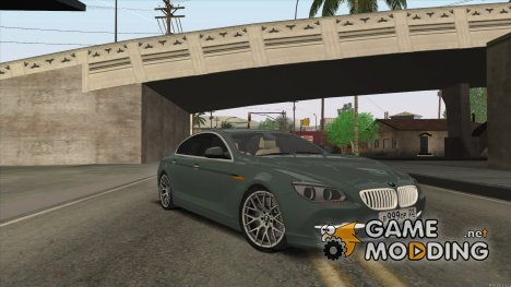BMW 6series Gran Coupe 2014 for GTA San Andreas