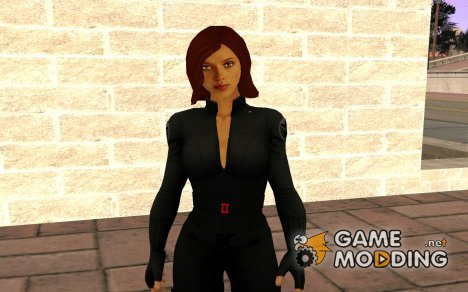 Black Widow - Scarlet Johansson from Avengers для GTA San Andreas