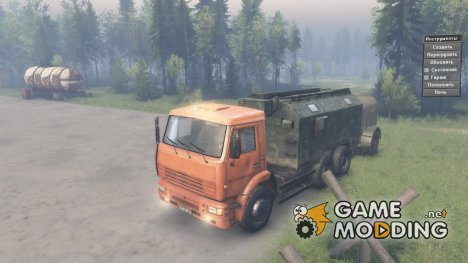 КамАЗ 6522 «Highway» for Spintires 2014