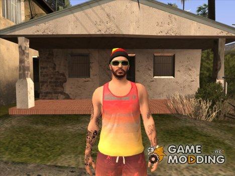 Пляжный парень из GTA Online для GTA San Andreas