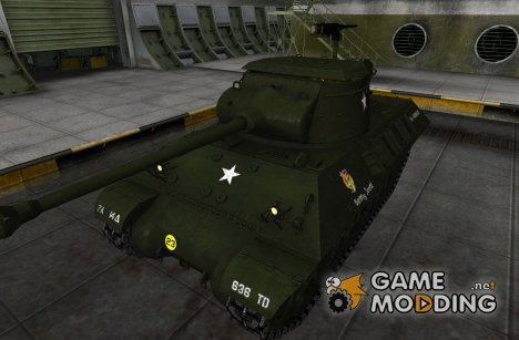 Шкурка для M36 Slagger for World of Tanks