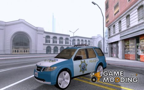 Saab 9-7X Police for GTA San Andreas