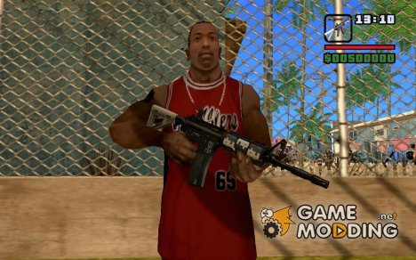 "AR-15 ""EAGLE"" для GTA San Andreas"