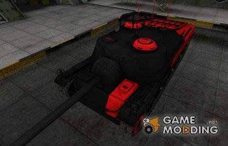 Черно-красные зоны пробития T28 for World of Tanks