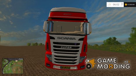 Scania R 700 Evo v1.0 для Farming Simulator 2015