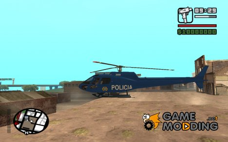Eurocopter AS 550 Police D.F. for GTA San Andreas