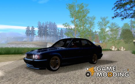 BMW E34 M5 - Stock for GTA San Andreas